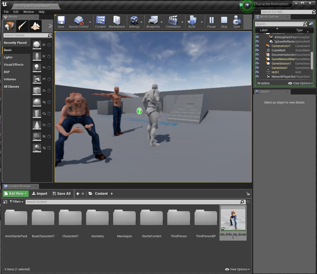 UE4 retargeting character animation - FeedBack Tracker